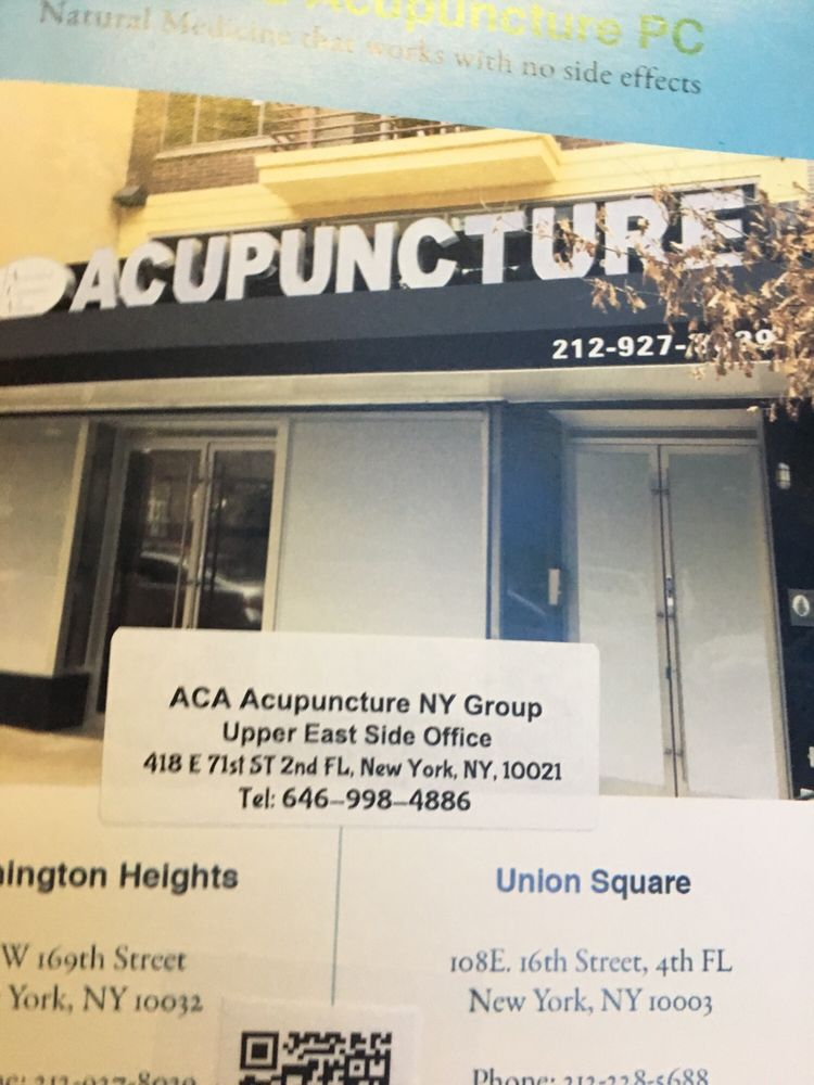 Columbia Acupuncture, PC: 613 W 169th St, Manhattan, NY