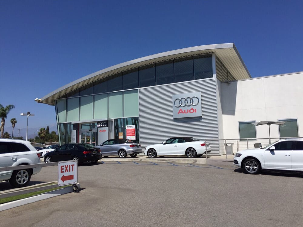 Entrance To Audi Yelp