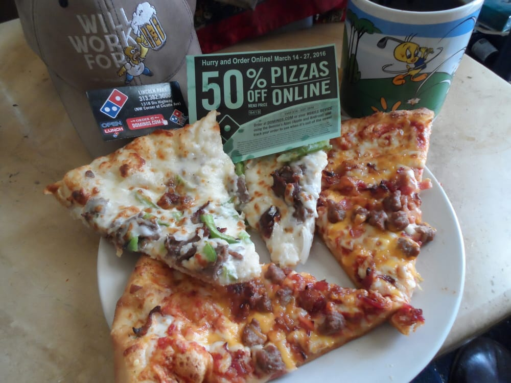 Buy Half Price Pizza Online Only Till March 27th Got Some