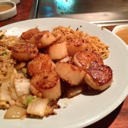 Mt. Fuji Restaurants - Hasbrouck Heights, NJ, United States. Scallops hibachi!