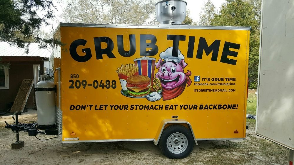 It's Grub Time: Sneads, FL