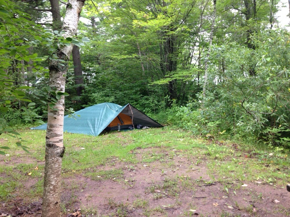 9 photos for Buffalo House & Campground: the site was gigantic! Our little two man tent looked ...