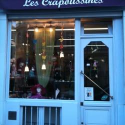 Les Crapoussines Accessoires 39 Rue Brochant Batignolles Paris