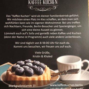 Kaffee Kuchen Cafes Markgrafendamm 31 Friedrichshain Berlin