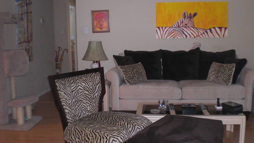 Our new sofa chair & ottoman from we re very happy that