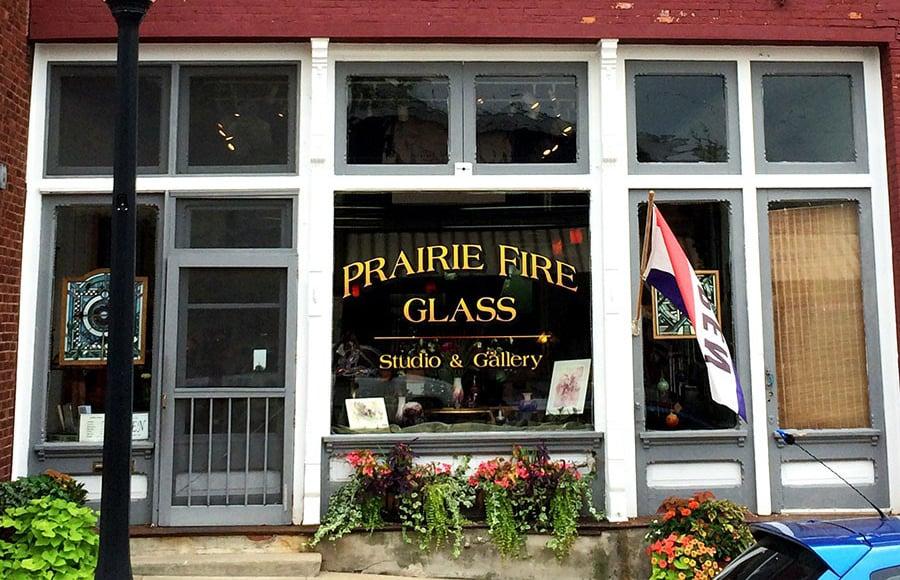 Prairie Fire Glass: 217 W Washington St, Monticello, IL