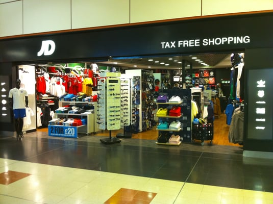 JD North Terminal Sporting Goods Gatwick Airport N