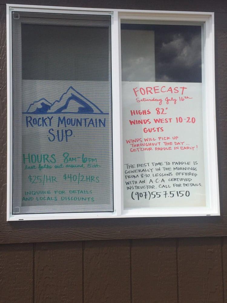 Rocky Mountain SUP: 1005 Lake Ave, Grand Lake, CO