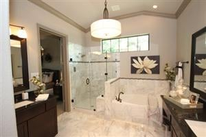 Pictured Is The Master Bathroom In Our Woodbend Park