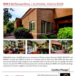 Keller Williams Sonoran Living : Cynthia Plungis - Keller Williams Sonoran Living - Agenzie ...