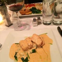 Giostra NY - Tappan, NY, United States. Salmon small plate. Sooo good