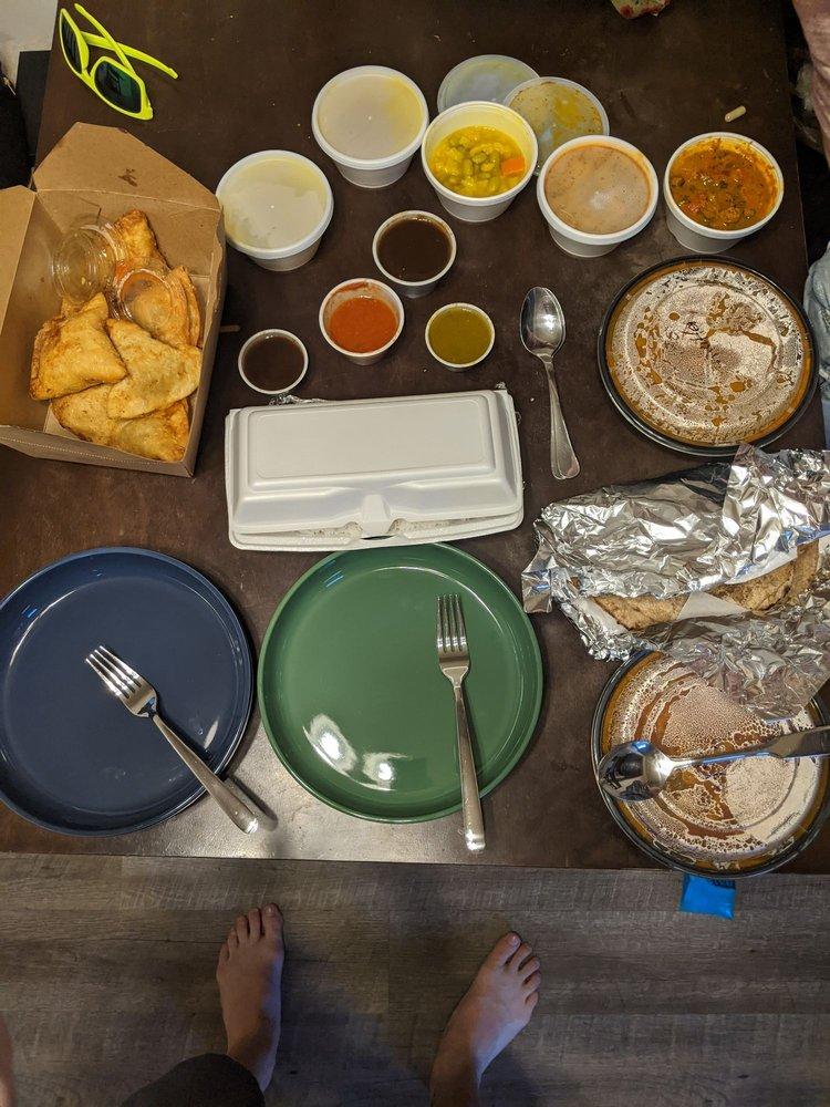 Food from Namaste Nepal Restaurant