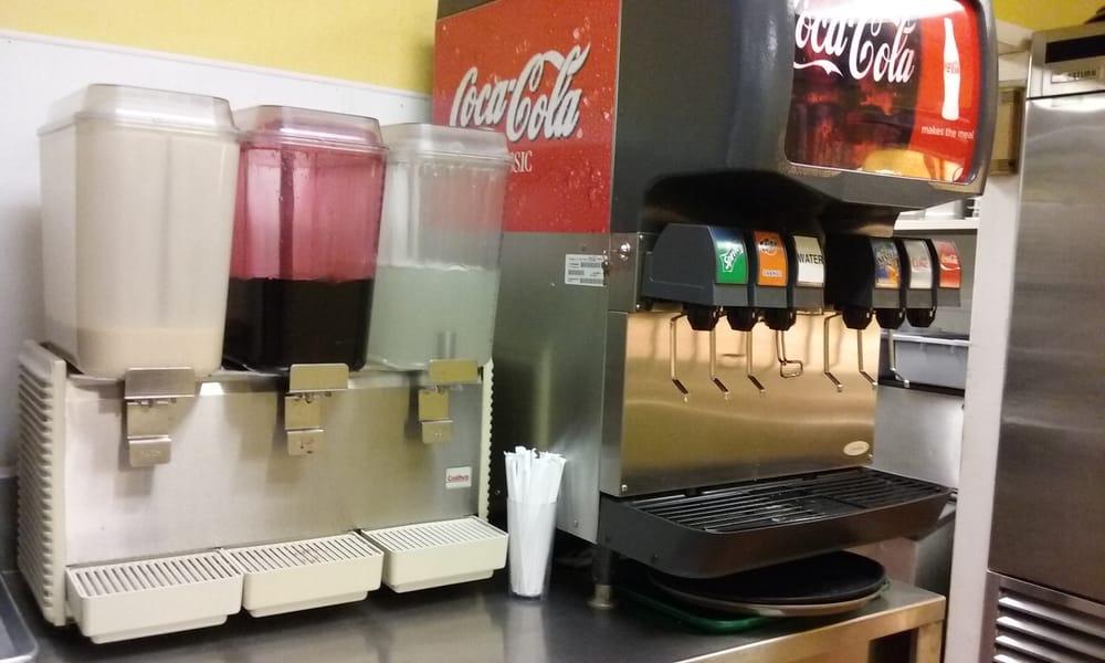 Auto Service Near Me >> Coke Products on Soda Machine plus Agua de Jamaica, Lemonade, and Horchata! - Yelp