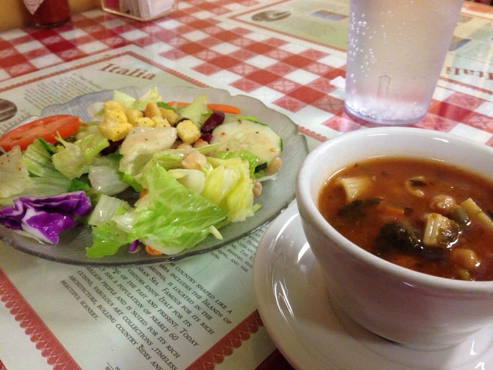 Zuppe e insalate yelp for Anthonys italian cuisine sacramento