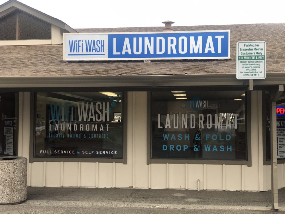 WiFi Wash: 7981 Old Redwood Hwy, Cotati, CA