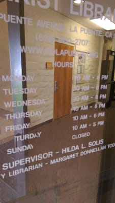 LA County Library - Sunkist Library 840 N Puente Ave La
