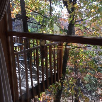 Photo Of Treehouse Cottages   Eureka Springs, AR, United States. Our View  From
