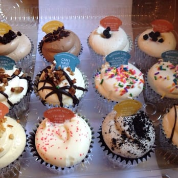 foiled cupcakes