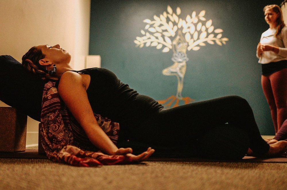 Social Spots from Transitions Yoga