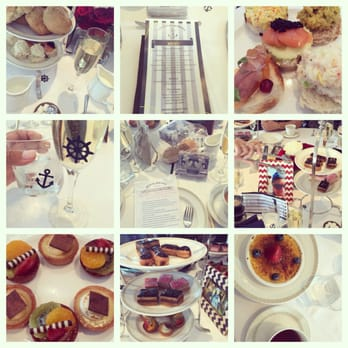 Photo Of The Tea Room Long Beach Ca United States Collage