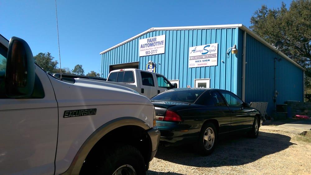 Fahr Automotive: 4985 Glover Ln, Milton, FL