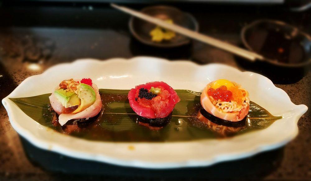 Rolling Moon Sushi Rolls