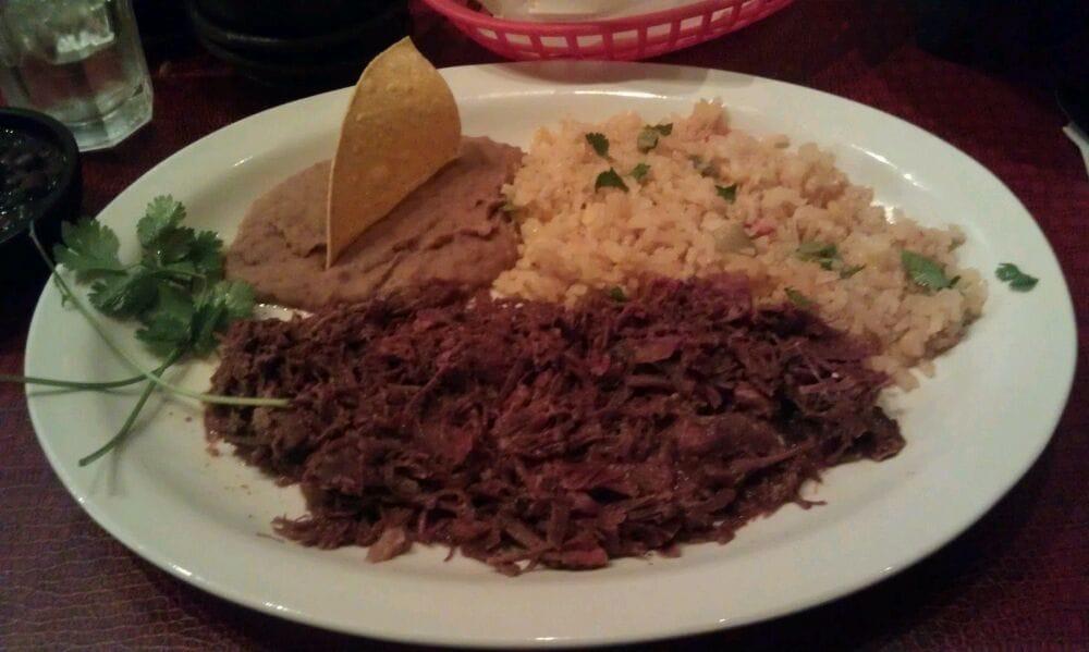 Barbacoa De Res Was Very Good And The Tableside Guacamole