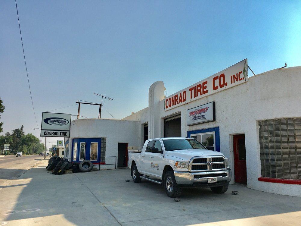 Conrad Tire Company: 227 S Main St, Conrad, MT