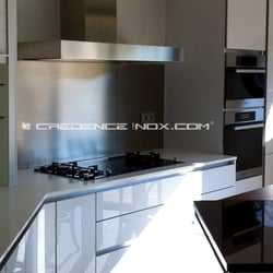 credence inox kitchen bath le moulin de la serve. Black Bedroom Furniture Sets. Home Design Ideas
