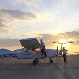 Photo Of Osm Aviation Academy Västerås Sweden Sunset