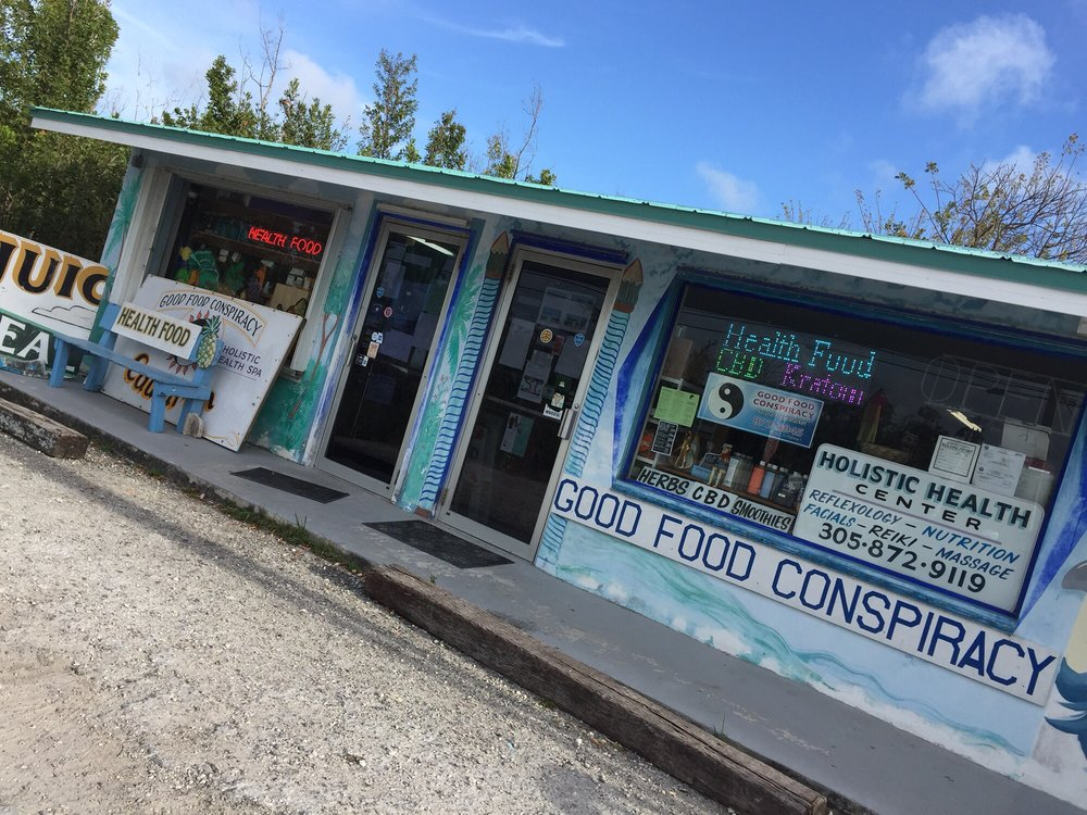 Good Food Conspiracy: 30150 Overseas Hwy, Big Pine Key, FL