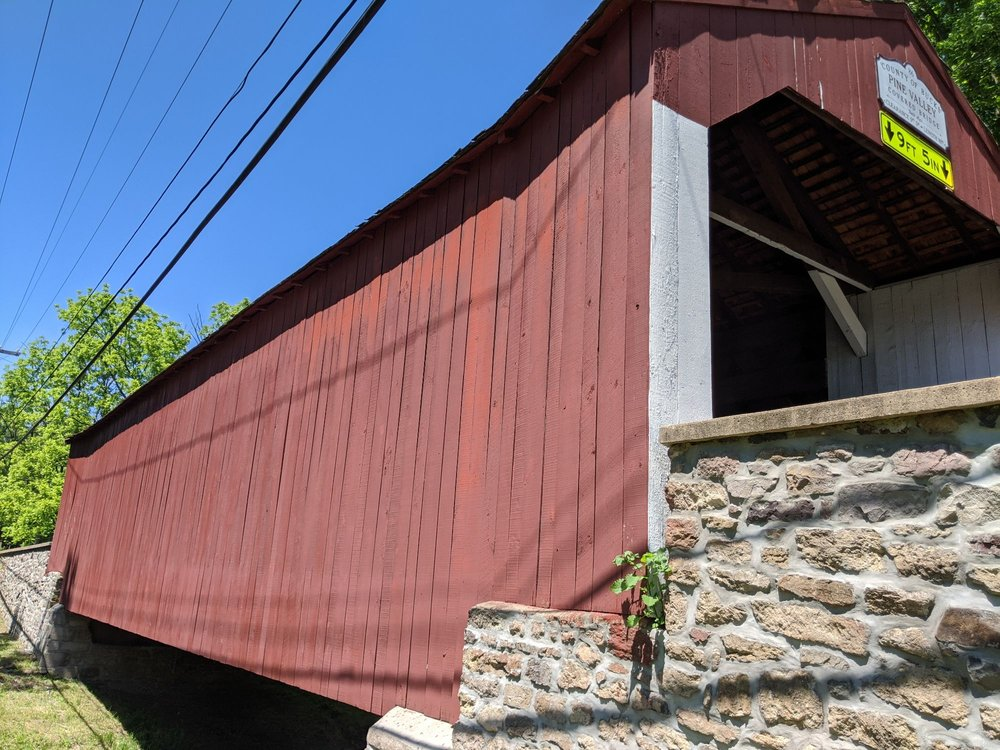 Pine Valley Covered Bridge: 229 Keeley Ave, New Britain, PA