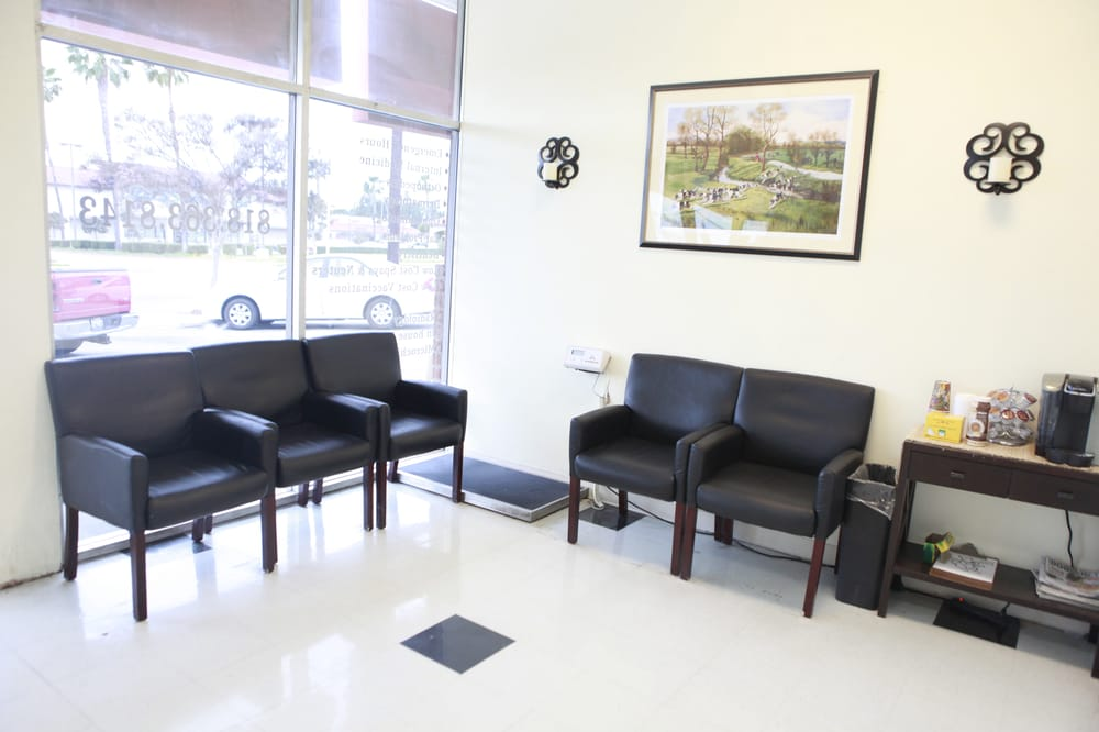 waiting room at veterinary hospital mission animal care