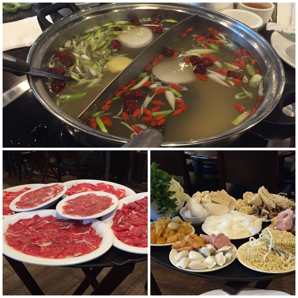 Toppings, cilantro, green onion, bean paste, raw minced garlic - Yelp