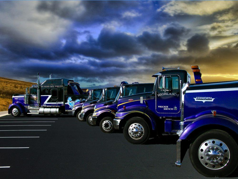 Highland Wrecker Services: 3219 N 7th St, Las Vegas, NV