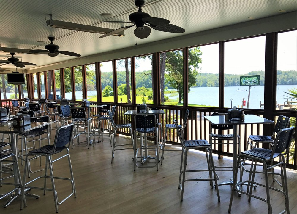 The Grill at Crooked Creek Marina: 208 Crooked Creek Dr, Eatonton, GA