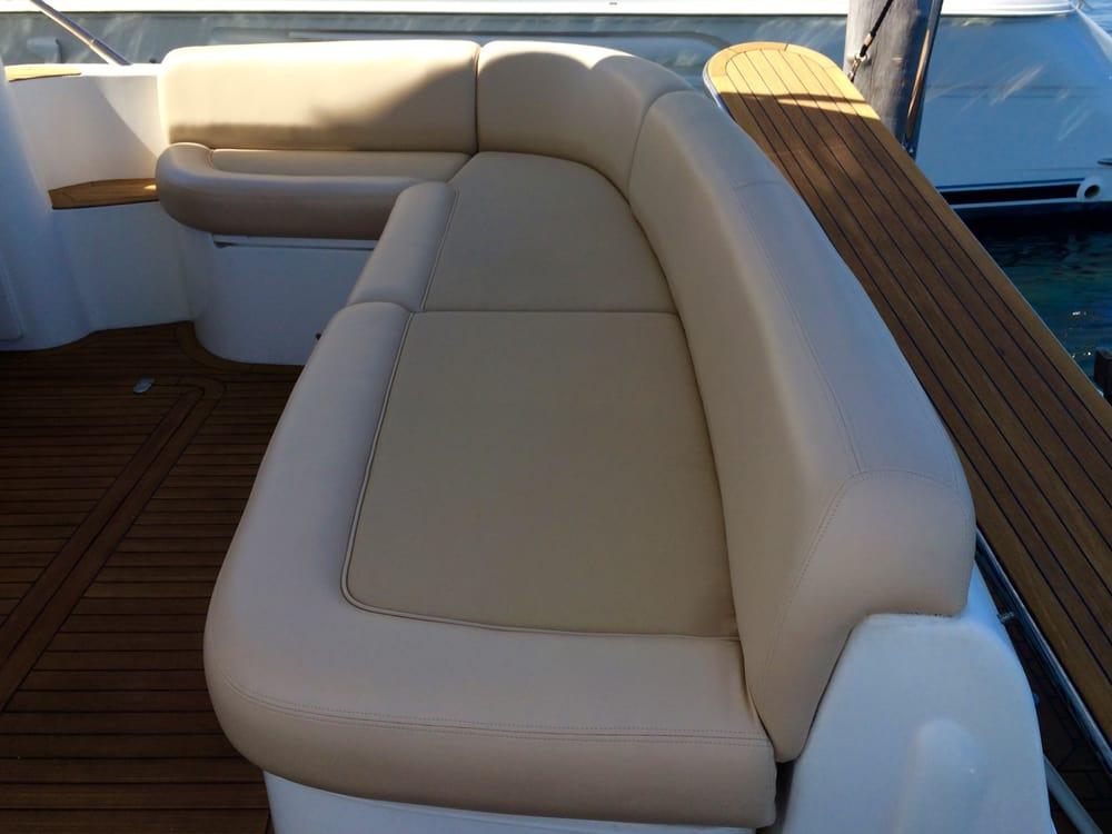 Seafarer canvas marine upholstery boat repair 144 water st norwalk ct phone number yelp for Boat interior restoration near me