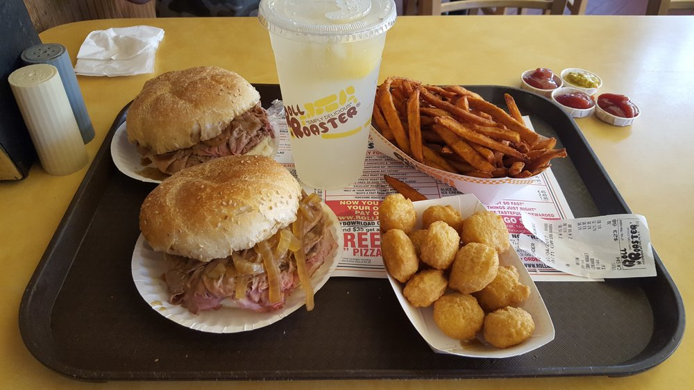 Food from Roll-N-Roaster