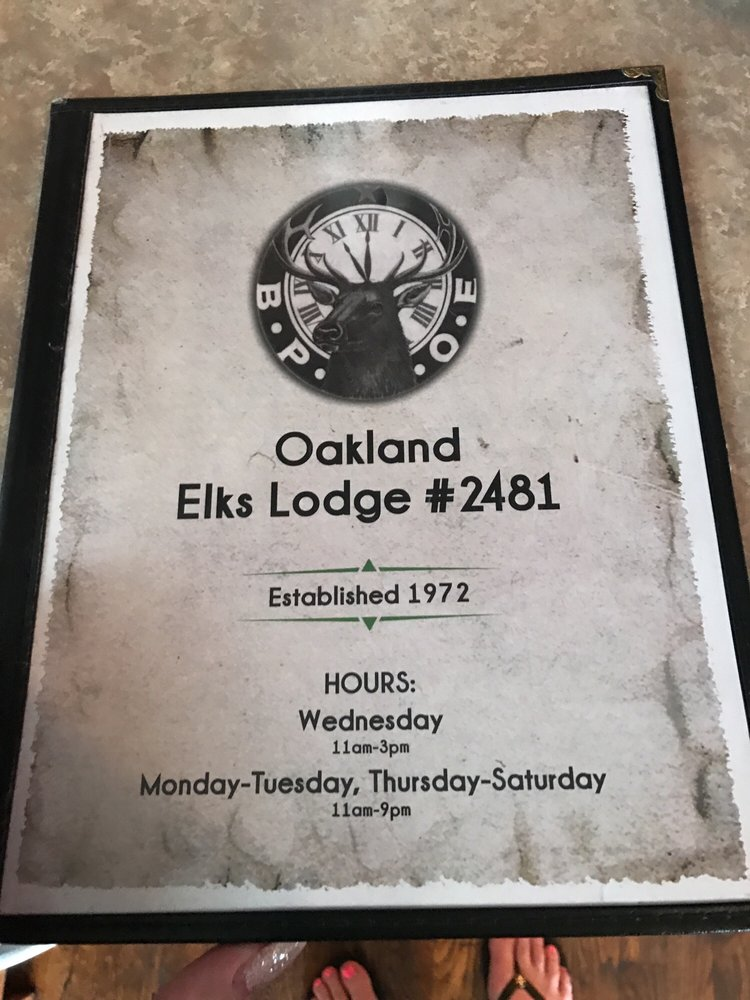 Oakland Elks Lodge 2481: 100 Elk St, Oakland, MD