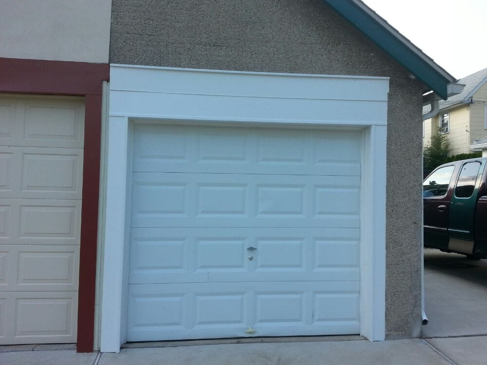 garage capping in pvc trim boards yelp. Black Bedroom Furniture Sets. Home Design Ideas