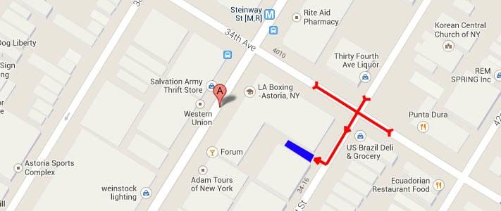 PV Parking: 34-11 Steinway St, Long Island City, NY