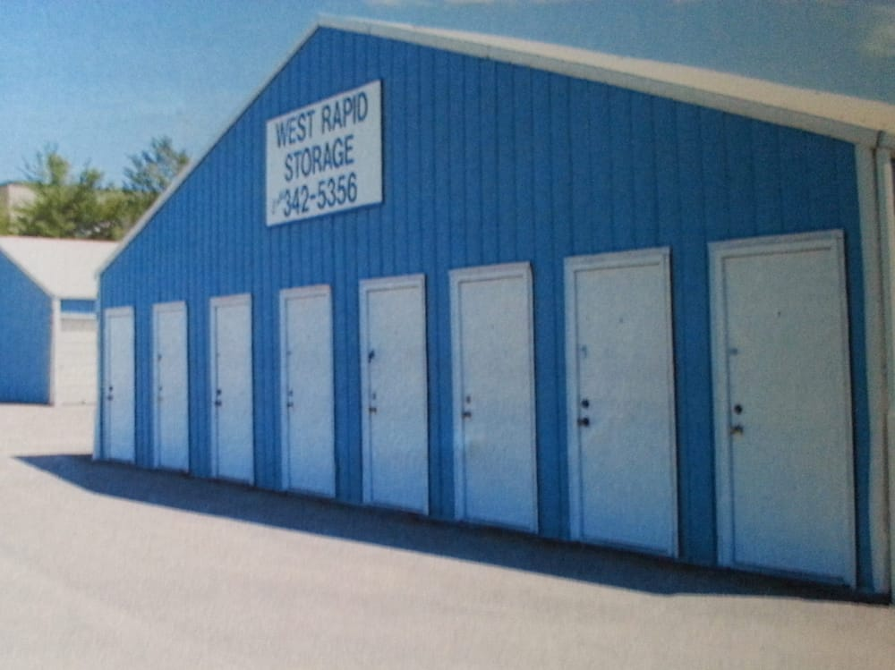 West Rapid Storage Units: 510 Industrial Ave, Rapid City, SD