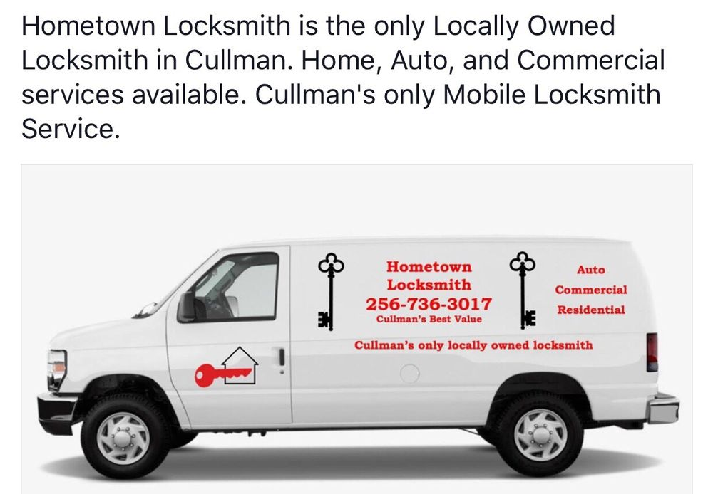 Hometown Locksmith: Cullman, AL