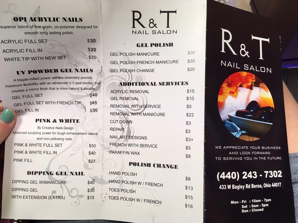 R & T Nails: 433 W Bagley Rd, Berea, OH