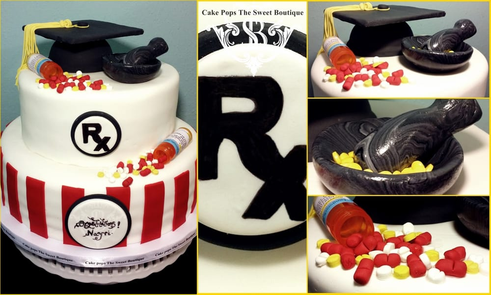 pharmacy graduation cake on birthday cakes made to order near me