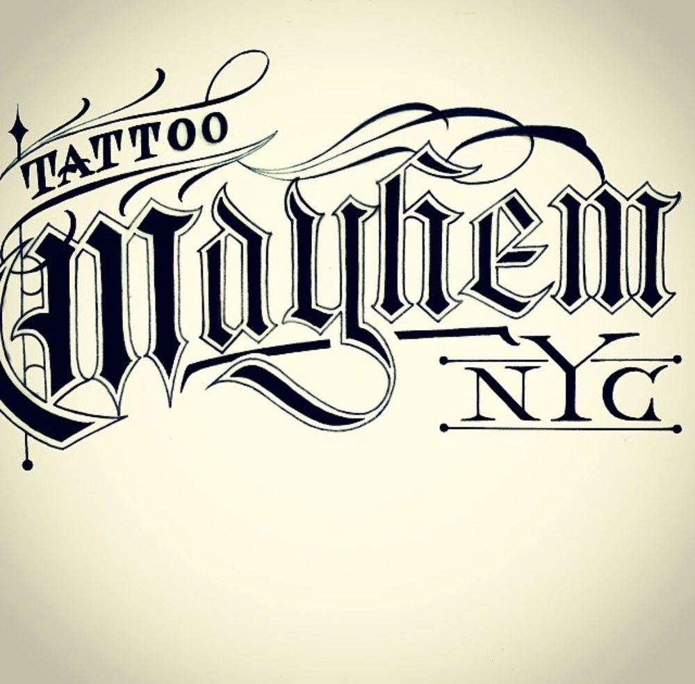 Tattoo Mayhem: 1510A Castlehill Ave, Bronx, NY