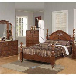 Photo Of Payless Mattress   Newark, NJ, United States. Walnut Ponderosa  Bedroom Set ...