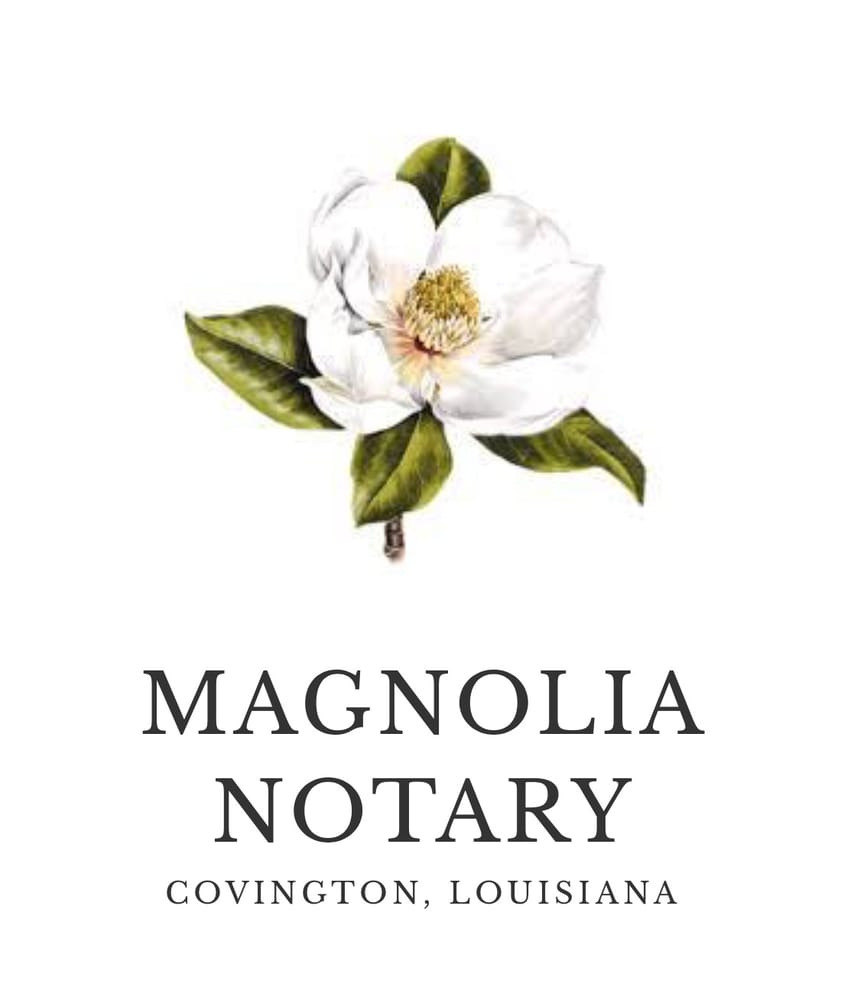 Magnolia Notary: 527 E Boston St, Covington, LA