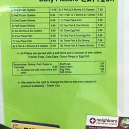 Photos for fountain view fish market menu yelp for Fountainview fish market
