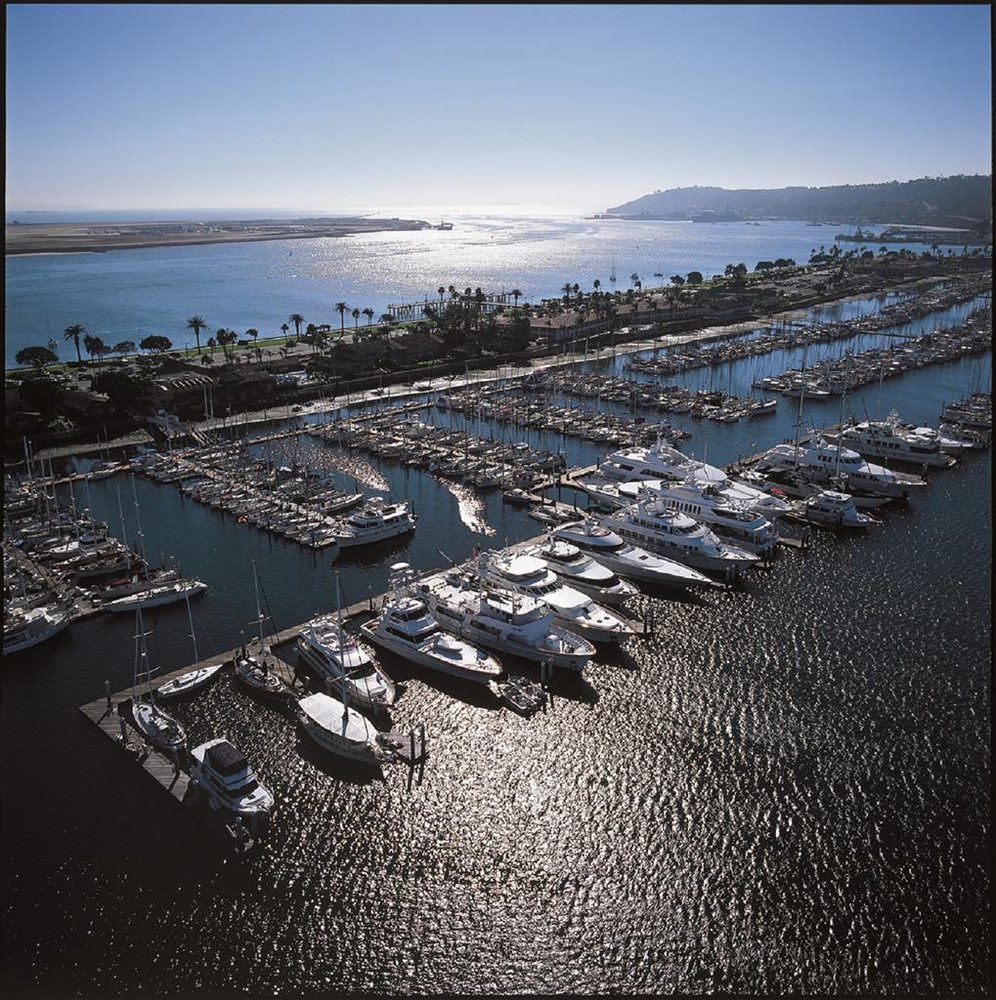 Point Loma Navy Base In San Diego, CA